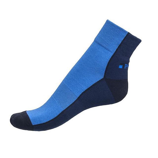 Ponožky Phuseckle Streetline modré půlené