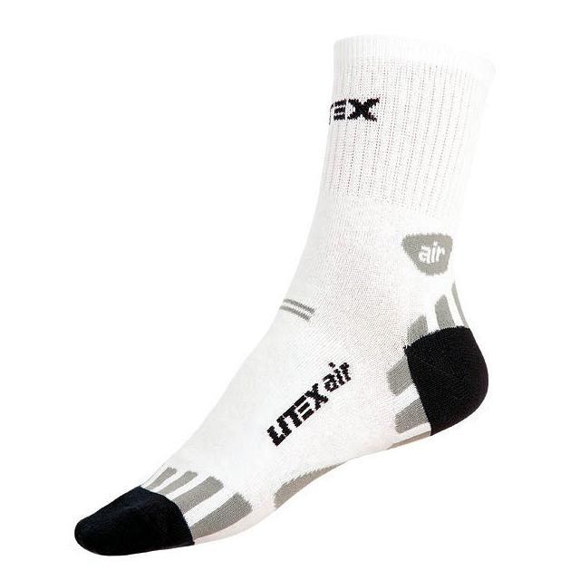 Ponožky Litex Air bílo-černé