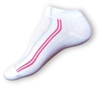 Bílé ponožky se stříbrem Agiva AT 10
