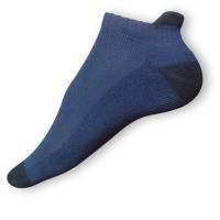 Kotníkové ponožky modročerné