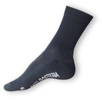 Sportovní ponožky Agiva se stříbrem černé AT 06