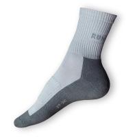 Běžecké ponožky šedošedé - VÝPRODEJ