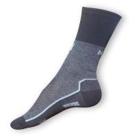 Thermo ponožky Moira šedočerné