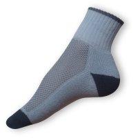 Sportovní ponožky šedé