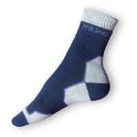 Treking ponožky modrošedé