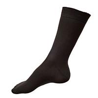 Šedé společenské ponožky se stříbrem Agiva AT 05
