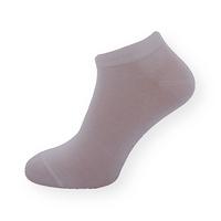 Bambusové bílé kotníčkové ponožky