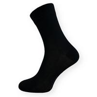 Bambusové ponožky černé klasické
