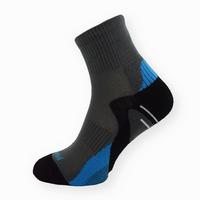 Bambusové sportovní ponožky tmavě šedé-modré