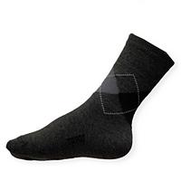 Ponožky Moira TG 900 dětské PO/TGd káro-šedé