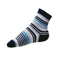 Chlapecké moderní ponožky modré pruhované