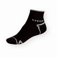 Litex černé sportovní ponožky nízké