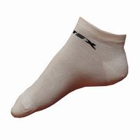 Kotníkové ponožky Litex bílé