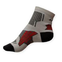 Dámské sportovní ponožky Litex bílo-šedé