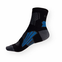 Sportovní ponožky Litex černo-šedé-modré