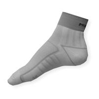 Cyklo ponožky Moira PO/CK bílo-šedé