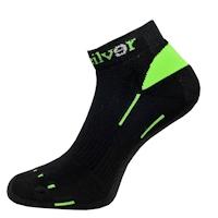 Nanosilver nízké černé sportovní ponožky