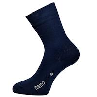 Ponožky Nanosilver modré společenské