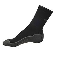 Ponožky Nanosilver sportovní černé neohrnovací