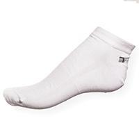 Bílé kotníkové ponožky Phuseckle Summerline