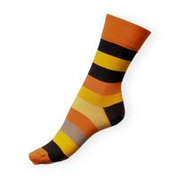 Ponožky Phuseckle Classicline oranžové pruhy