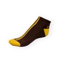 Dámské nízké kotníkové Phuseckle Softline hnědo-žluté