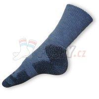 Vlněné ponožky Moira Arktida šedé PO/AR
