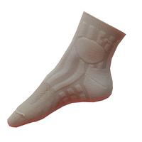 Vlněné vložky do ponožek Moira PO/VL bílé