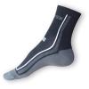 Letní ponožky Litex černošedé