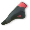 Cyklistické ponožky Moira černočervené