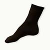 Hnědé ponožky 100% bavlna žebrované - zobrazit detail zboží