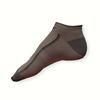 Kotníkové šedé letní ponožky - zobrazit detail zboží