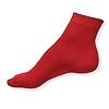 Klasické snížené červené ponožky - zobrazit detail zboží