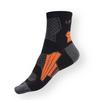 Sportovní ponožky Litex černo-šedé