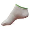 Dámské sportovní ponožky Litex nízké bílé-zelené