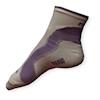 Lehké cyklo ponožky Moira PO/CKL bílo-fialové - VÝPRODEJ