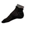 Ponožky na běh Moira PO/RU černé - zobrazit detail zboží