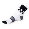 Ponožky Phuseckle Sportline bílé-kostky - zobrazit detail zboží
