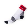 Ponožky Phuseckle Sportline bílé-proužky - zobrazit detail zboží