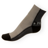 Ponožky Phuseckle Streetline tmavošedé-šedé půlené - zobrazit detail zboží