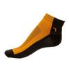 Kotníkové Phuseckle Summerline oranžovo-černé půlené - zobrazit detail zboží