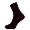 Klasické černé ponožky se zdravotním lemem  - zobrazit detail zboží